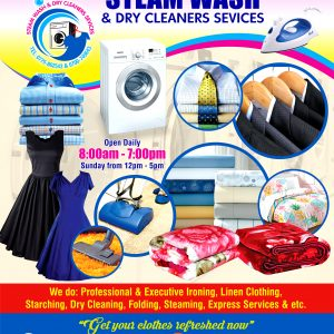 STEAM-WASH-DRY-CLEANERS-SEVICES-WINDOW-ONEWAY-VISION-STICKERS-Size-130x103cm-compressed